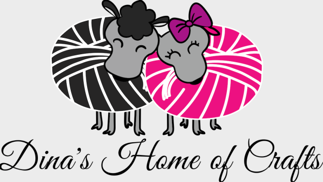 Dina's Home of Crafts Logo