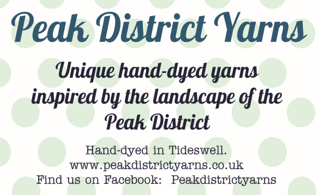 Peak District Yarns Logo