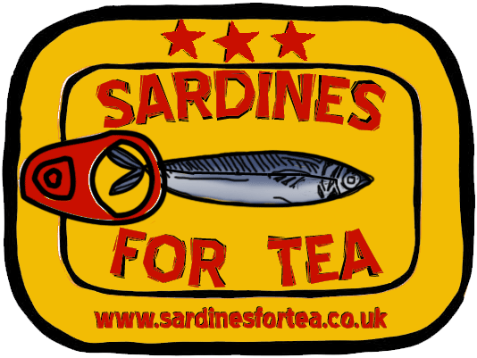 Sardines For Tea Logo