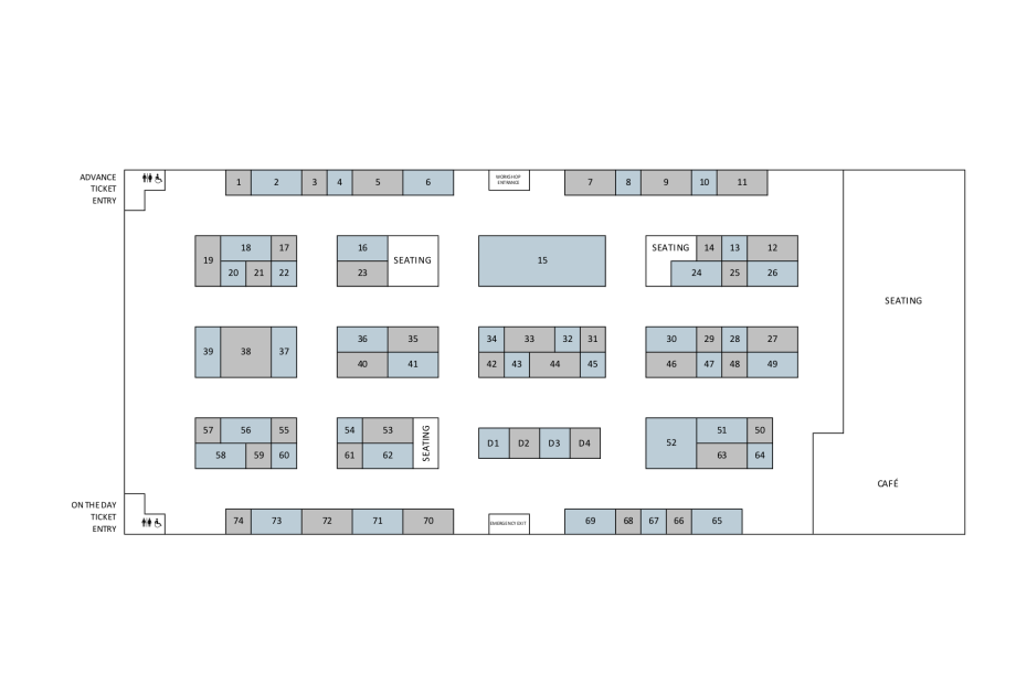 The Wool Monty 2019 Floorplan